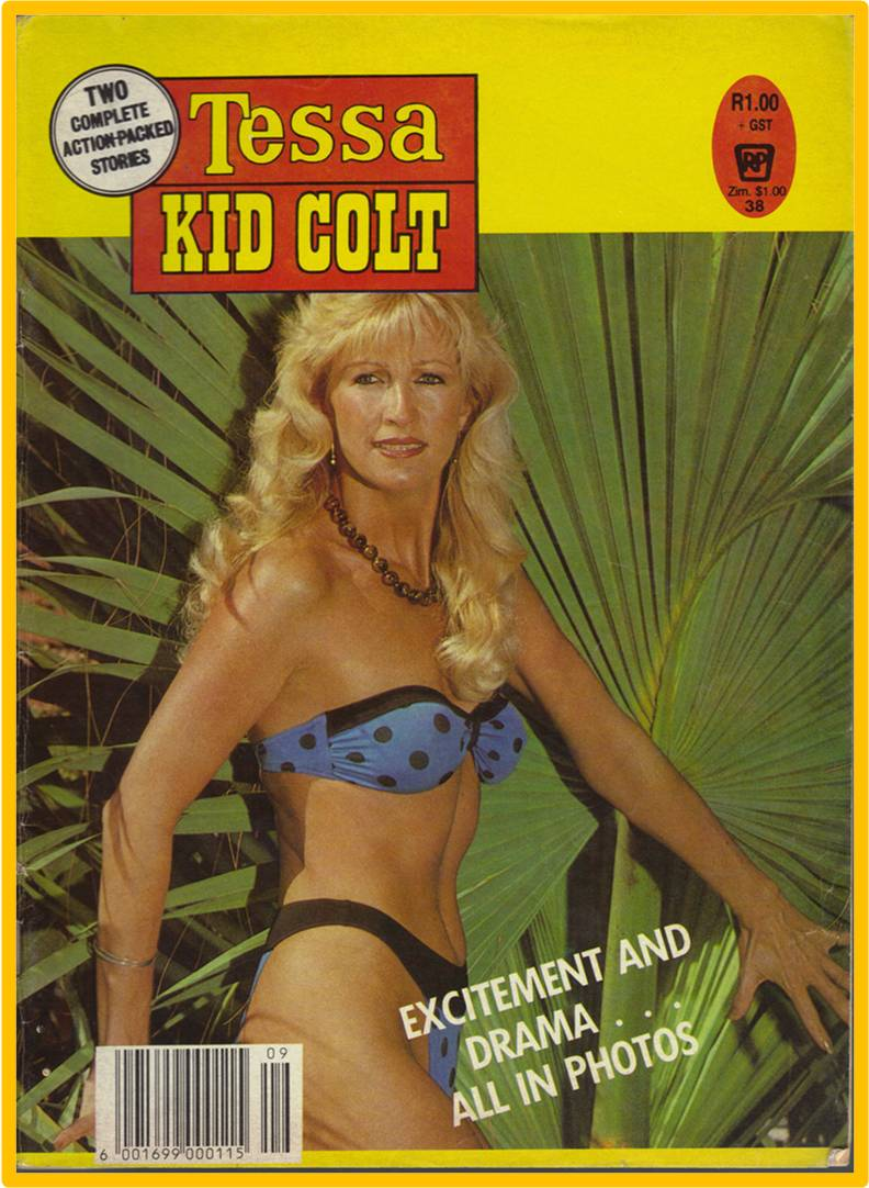 Tessa and Kid Colt - Treasure hunt and Blood on gold